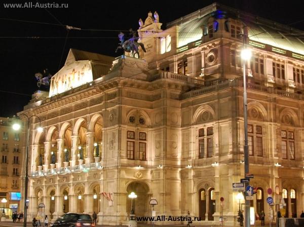 Здание Оперы в Вене