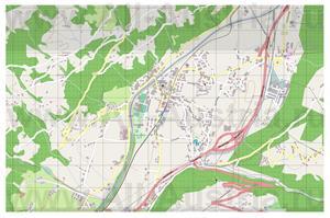 Подробная карта города Цель-ам-Циллер