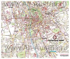 Подробная карта города Грац