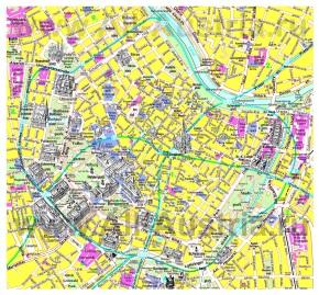 Туристическая карта Вены с достопримечательностями