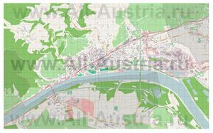 Подробная карта города Кремс