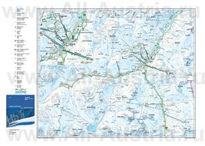 Туристическая карта горнолыжного Лех
