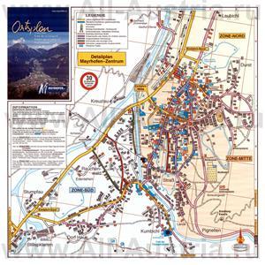 Туристическая карта курорта Майрхофен с отелями