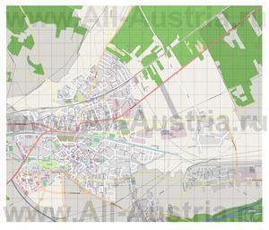 Подробная карта города Нойнкирхен