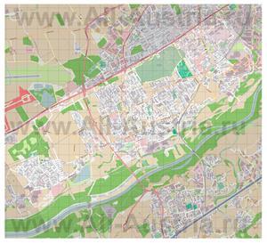 Подробная карта города Траун